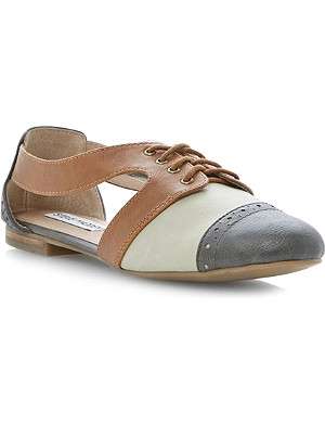 STEVE MADDEN Cori cut-out Oxford shoes