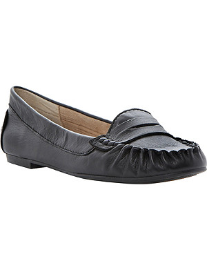 STEVE MADDEN Murphey faux-leather loafers