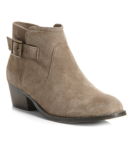 STEVE MADDEN Prizzze suede ankle boots (Taupe-suede
