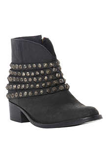 STEVE MADDEN Jaane leather ankle boots