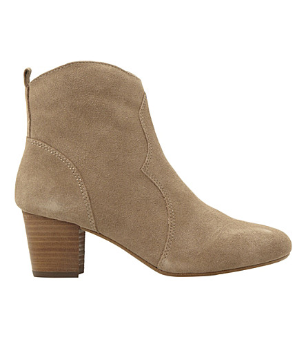 STEVE MADDEN Hipstir suede boots (Taupe-suede