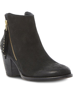 STEVE MADDEN Whysper leather ankle boots