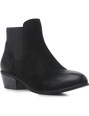 STEVE MADDEN Rosamare leather ankle boots