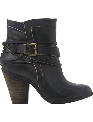STEVE MADDEN Nadal buckle ankle boots