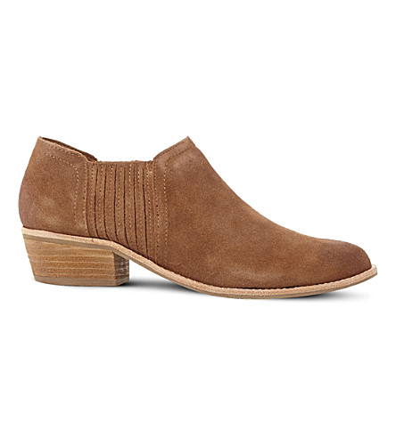 STEVE MADDEN Courtst suede ankle boots