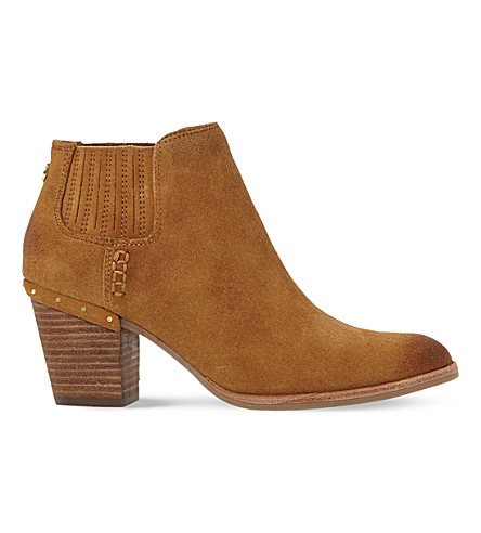 STEVE MADDEN Tinker suede ankle boots