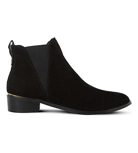 STEVE MADDEN Nickell suede Chelsea boots (Black-suede