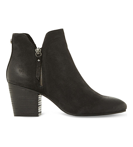 STEVE MADDEN Winner leather ankle boots (Black-leather