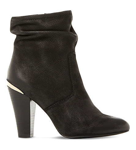 STEVE MADDEN Wannabee sm leather boots (Black-leather