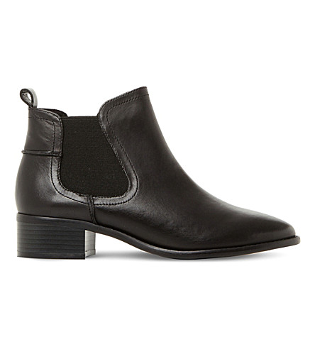 STEVE MADDEN Dicey sm leather chelsea boots (Black-leather