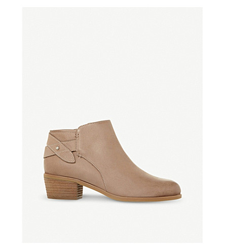 STEVE MADDEN Nicola SM leather ankle boot (Taupe-nubuck