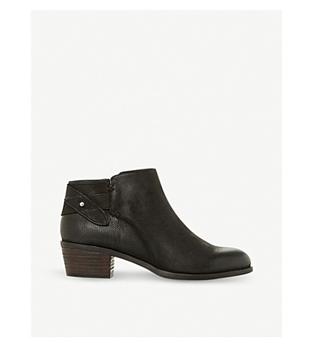 STEVE MADDEN Nicola SM leather ankle boot (Black-leather