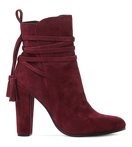 STEVE MADDEN Glorria suede ankle boots