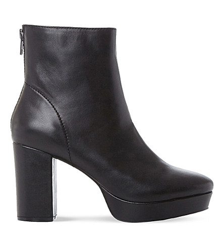 STEVE MADDEN Peace SM leather ankle boot (Black-leather