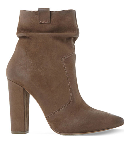 STEVE MADDEN Ruling SM nubuck leather ankle boot (Stone-nubuck