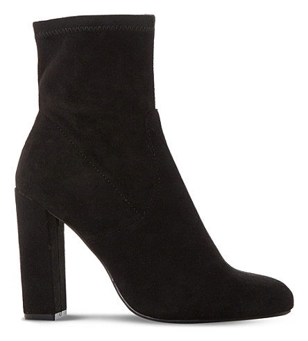 STEVE MADDEN Editt suede ankle boots (Black-suede