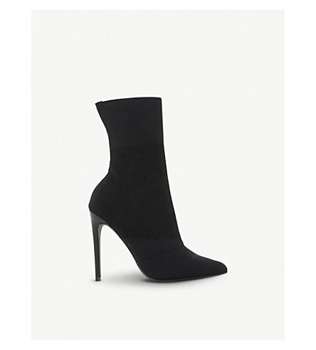 STEVE MADDEN Century sock boots (Black-fabric