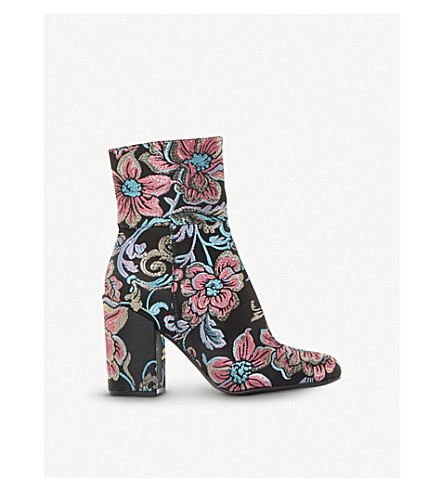 STEVE MADDEN Goldie brocade ankle boots (Multi-fabric