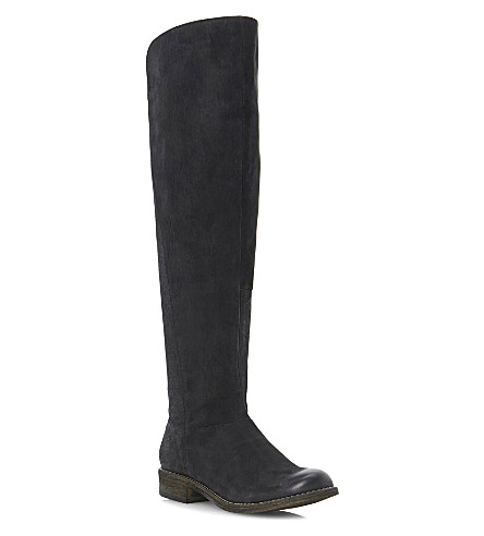 STEVE MADDEN Tally over-knee boots (Black-leather