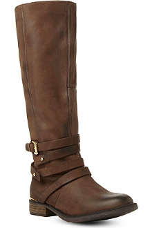 STEVE MADDEN Albany leather knee-high boots