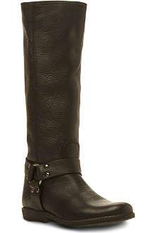 STEVE MADDEN Holden stirrup knee high boots