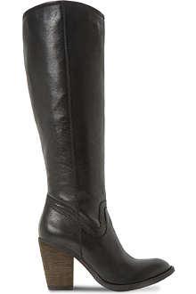 STEVE MADDEN Carter leather knee-high boots