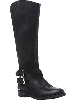 STEVE MADDEN Avilla leather riding boots