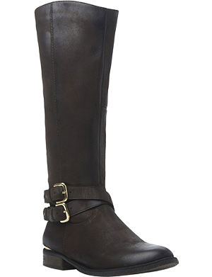 STEVE MADDEN Avilla leather riding boots