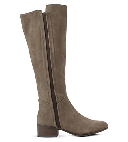 steve madden suede knee high boots selfridges