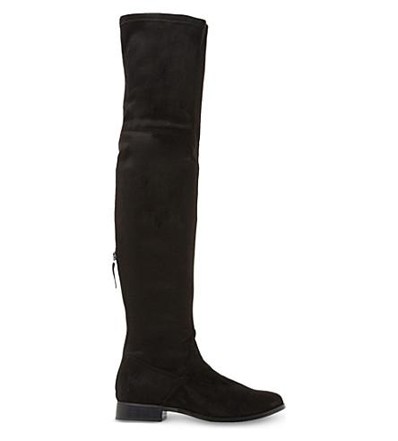 STEVE MADDEN Odessa over-the-knee boots (Black-micro+fibre