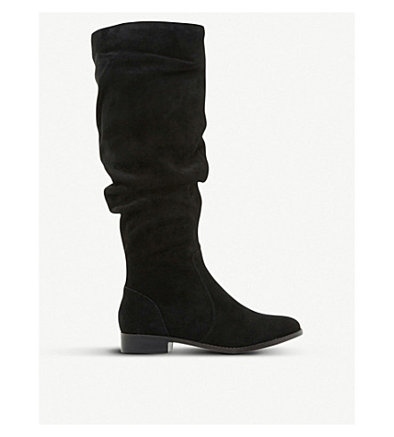 STEVE MADDEN Beacon SM suede boots (Black-suede