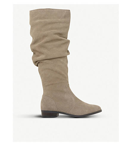 STEVE MADDEN Beacon SM suede boots (Taupe-suede