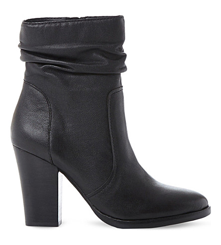 STEVE MADDEN Hunk SM leather calf boot (Black-leather