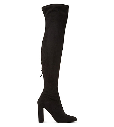 STEVE MADDEN Emotions sm over-the-knee boots (Black-micro+fibre