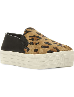 STEVE MADDEN Bubah ponyhair creeper trainers