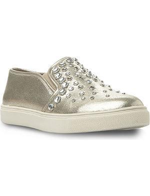 STEVE MADDEN Jewelled slip-on sneakers