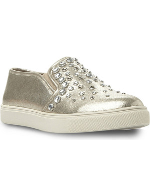 STEVE MADDEN Jewelled slip-on sneakers