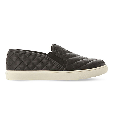 STEVE MADDEN Ecentricq quilted slip-on trainers (Black-synthetic