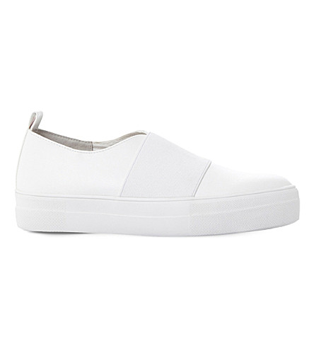 STEVE MADDEN Glenn sm slip on trainer (White-synthetic