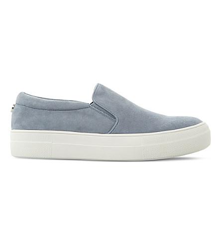 STEVE MADDEN Gills SM suede skate shoes (Blue-suede