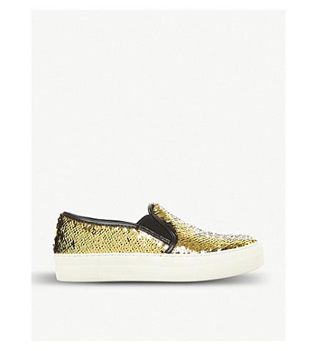 STEVE MADDEN Glenn sequin sneakers (Black