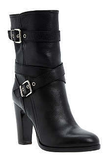 DUNE BLACK Rangel leather ankle boots