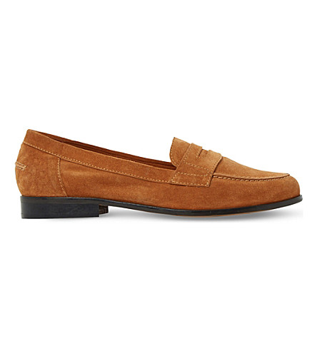 Dune Penny Loafers In Suede