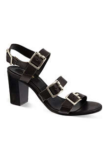 DUNE BLACK Buckled sandals