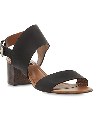 DUNE BLACK Lotta leather sandals