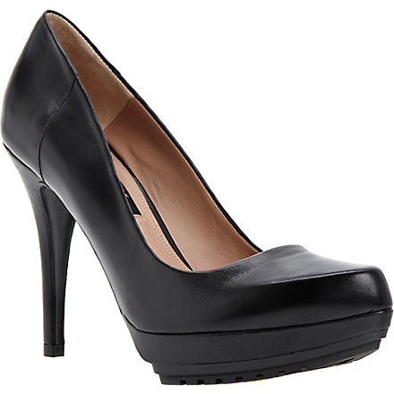 DUNE BLACK Ardon leather courts (Black-leather