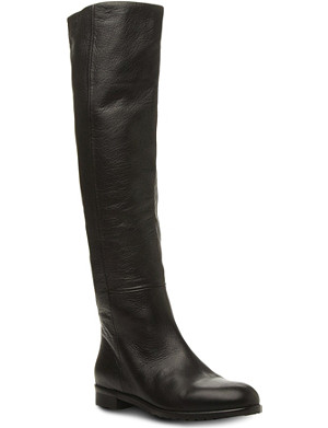 DUNE BLACK Tasmin knee-high leather boots