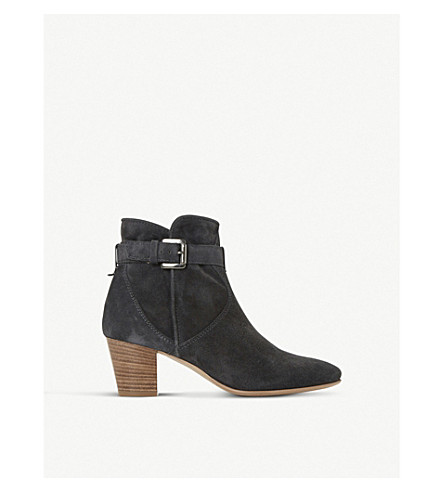 DUNE BLACK Portsmouth suede ankle boots (Grey-suede