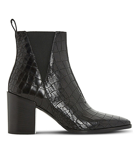 Pick A Best For Sale Discount Get To Buy crocodile-effect boots Discounts HjYlfHV