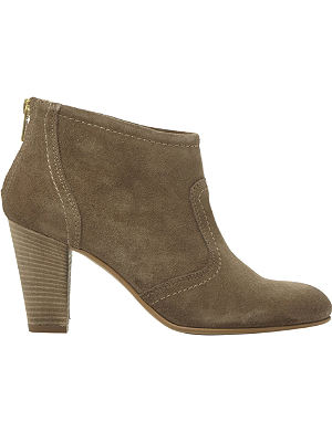 DUNE BLACK Poppey suede boots